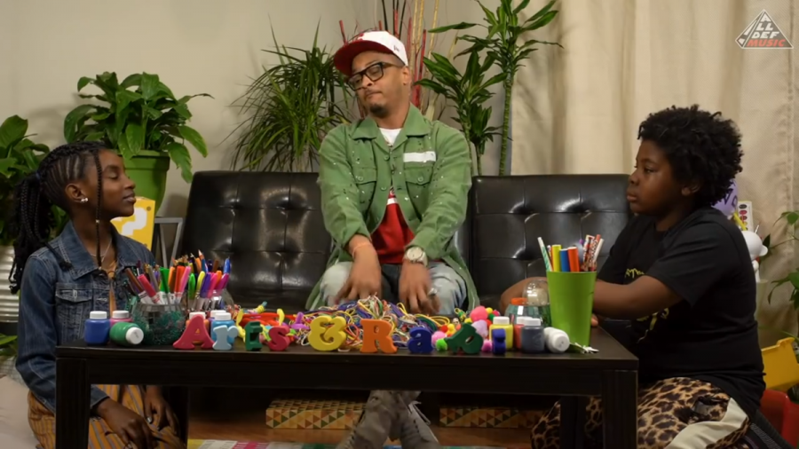 T.I. Struggles To Define 'Pimp' & 'Rubber Band Man' When Questioned By Kids
