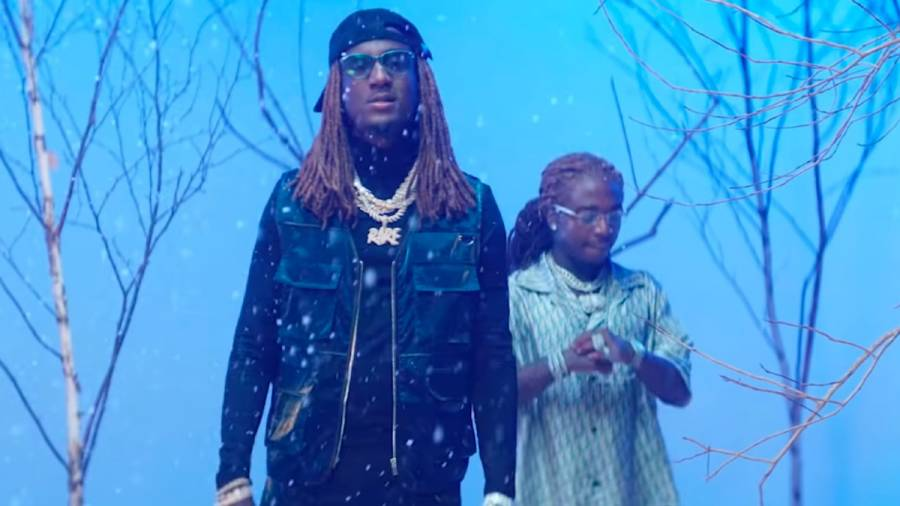 K Camp & Jacquees Makes It Snow Indoors In 'Whats On Your Mind' Video