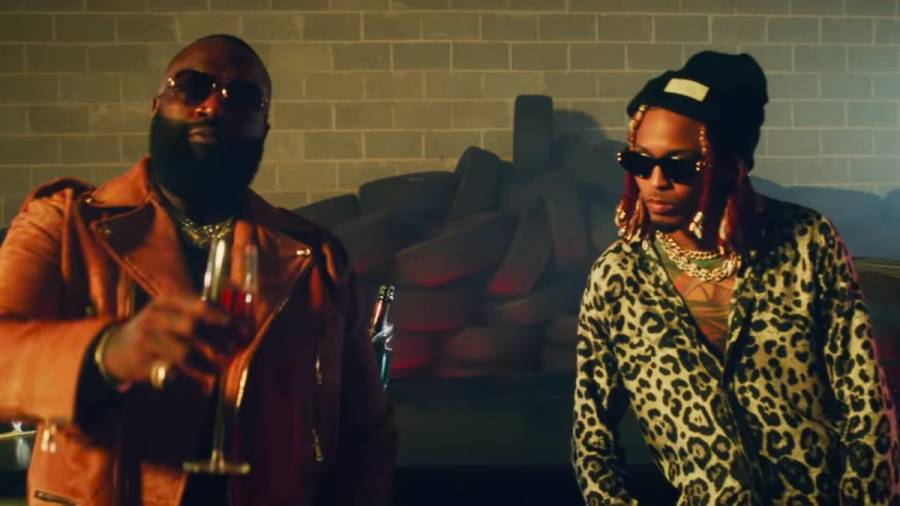 August Alsina & Rick Ross' 'Entanglements' Video Features Strippers, Gold Teeth & Lots Of Pyro