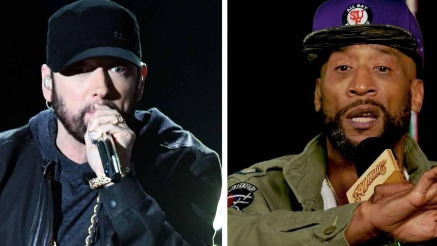 Eminem & Lord Jamar's Longstanding Beef Finally Squashed With Royce Da 5'9's Help