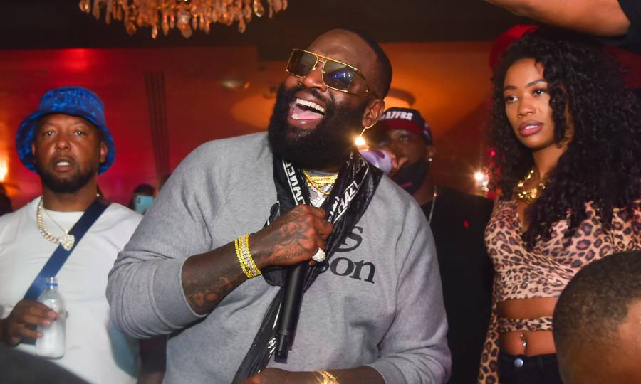 Rick Ross Shuts Down Clarksdale, Mississippi Walmart For The Holidays — & Gets Props From The Rock