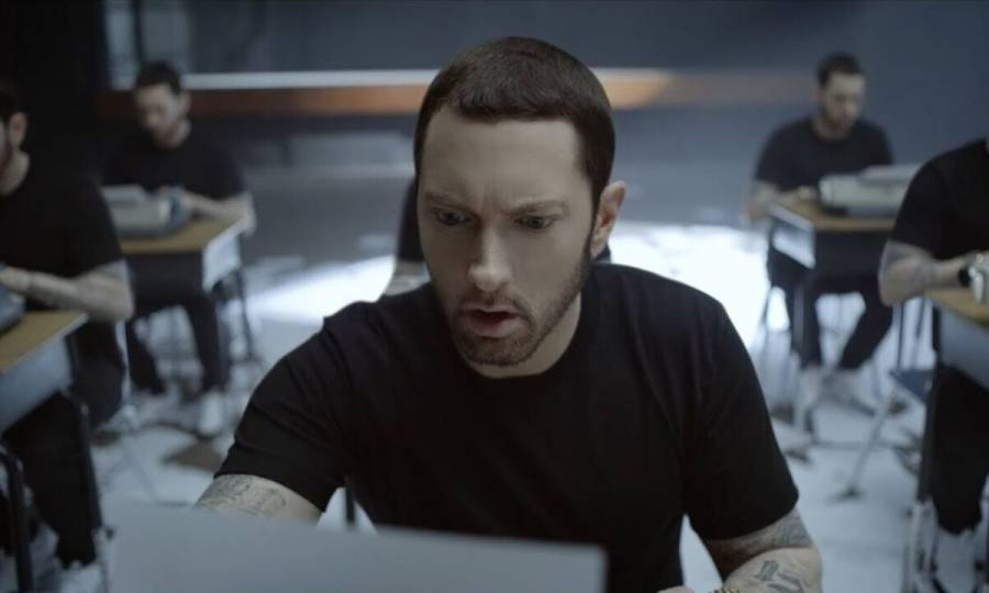 Eminem's 'Music To Be Murdered By: Side B' Projected To End Record-Setting Billboard 200 Streak
