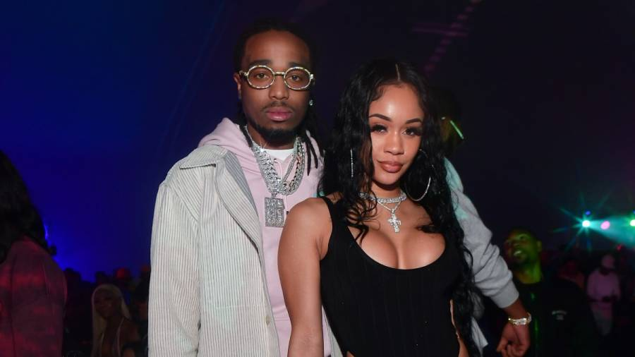 Quavo & Saweetie's Relationship Started When The Migos Rapper Sent An Instagram DM Of A Snowflake Emoji