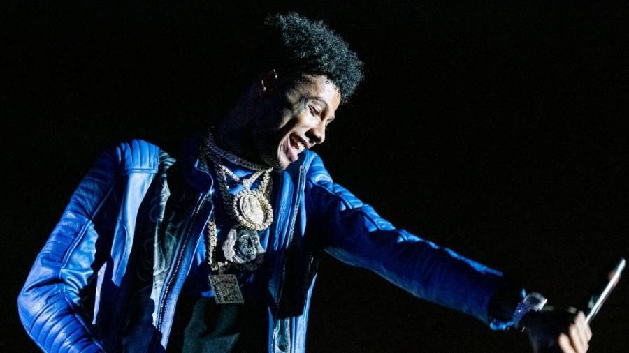 Blueface Happily Documents Women-Driven Chaos In His Crib