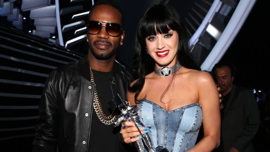 Juicy J Wants To Get A Beat On Ariana Grande's Album: 'Me & Katy Perry Went Double Diamond'