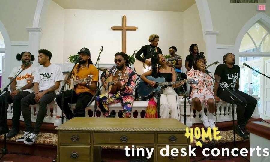 Dreamville's Spillage Village Takes Fans To Church In NPR's Tiny Desk Concert