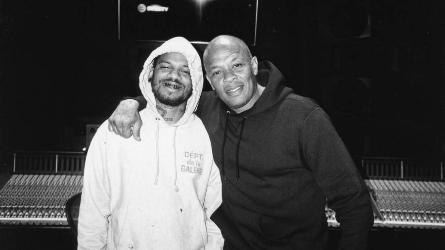 Houston Artist C.S. Armstrong Hits The Studio With Dr. Dre: 'My Coach Forever'