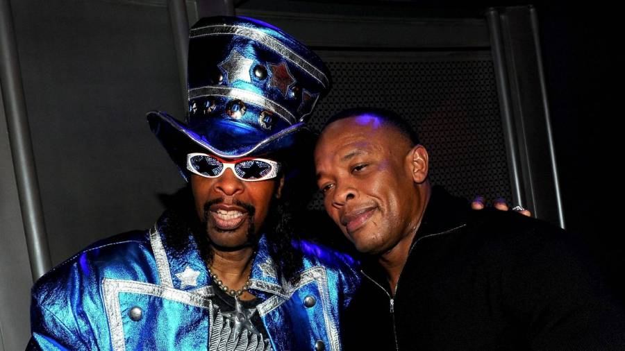 Bootsy Collins Crowns Dr. Dre & Snoop Dogg 'The Bootsy Collins & George Clinton Of Hip Hop'