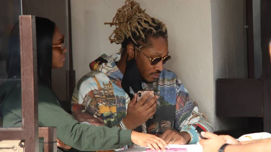 Did Future Just Cop Dess Dior An AP Watch?