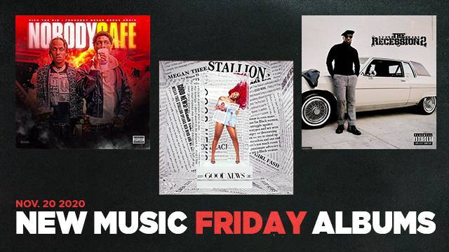 New Music Friday — New Albums From Megan Thee Stallion, Jeezy, Rich The Kid & YoungBoy Never Broke Again, Meek Mill & More