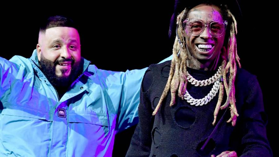 DJ Khaled's Giving Away A Playstation 5 & Sneaker Kits While Hyping Lil Wayne's 'No Ceilings 3' Release