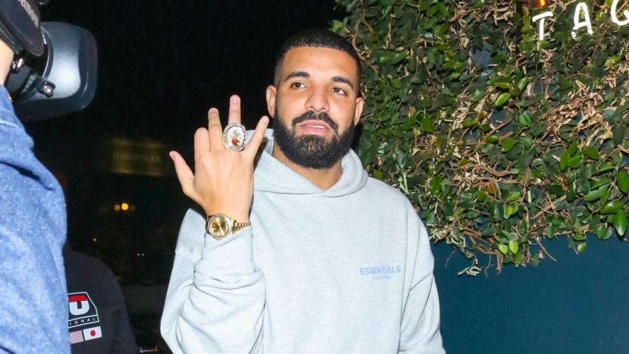 Drake's New Owl Chain Consists Of 342 Diamonds & 18 Carats Of Solid Rose Gold