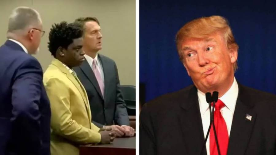 Kodak Black Willing To Donate $1M To Charity For A Donald Trump Pardon