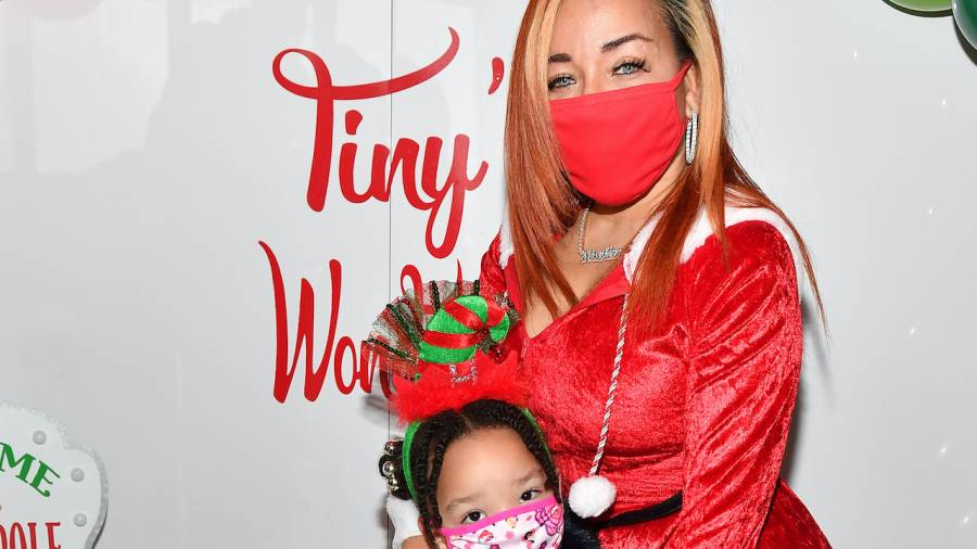 T.I.'s Wife & Daughter Heiress Host 5th Annual 'Tiny's Wonderland' With Toys & Cheer Galore