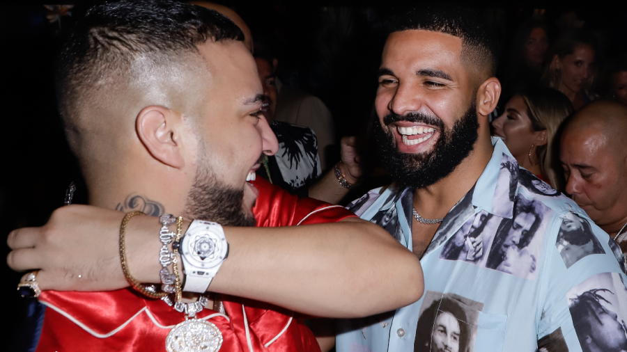 Drake Is Back On His Feet & Vacationing In Turks & Caicos With French Montana