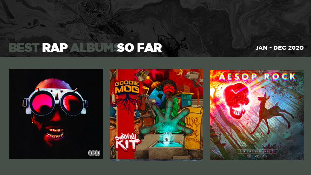 The Best Rap Albums of 2020 ...so far