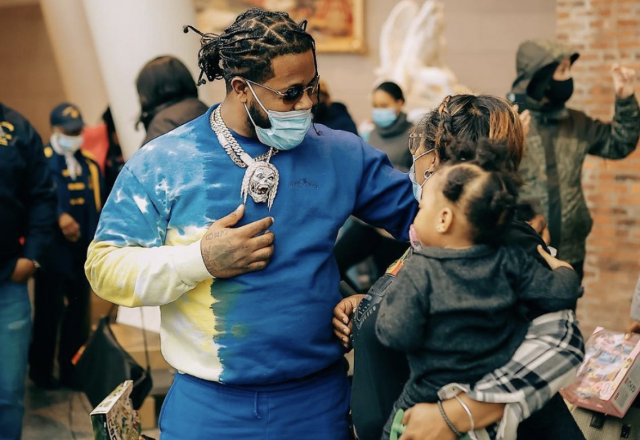 Rowdy Rebel Spends $200K On Groceries For Brooklyn Residents