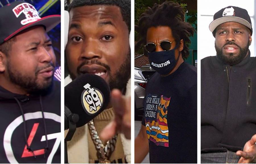 JAY-Z & Meek Mill Targeted By Funk Flex & Akademiks Over Roc Nation CEO's Presidential Pardon