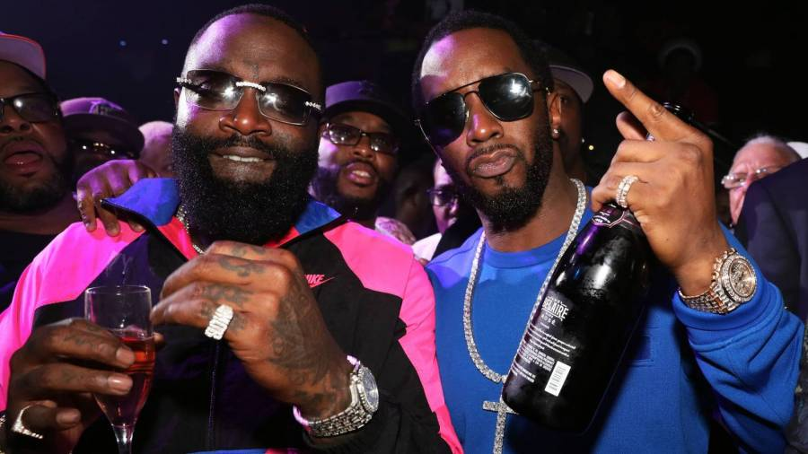 Rick Ross' Estate Blows Forbes Magnet Diddy's Mind: 'I Feel Like I'm At Universal Studios!'