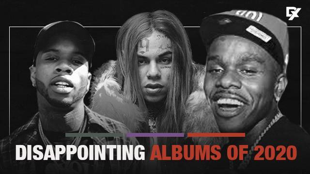 Most Disappointing Albums of 2020