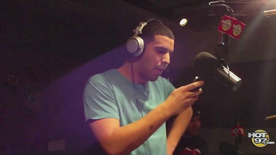 Funk Flex Randomly Claims Drake's Blackberry Freestyle Was Ghostwritten As Hot 97 DJ Preps New Album