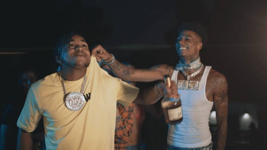 DDG & Blueface's RapCaviar-Topping 'Moonwalking In Calabasas (Remix)' Goes Gold