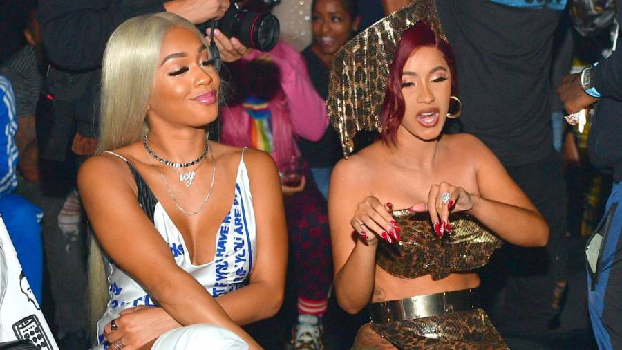 Cardi B & Saweetie Dropping A Rap Queen Project Together?