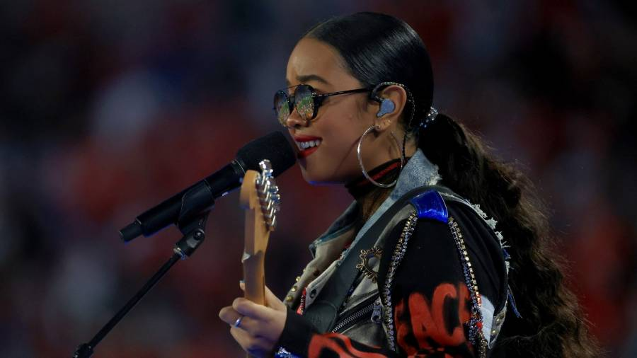 H.E.R. Reportedly Slapped With $3M Lawsuit Following Riveting Super Bowl Performance