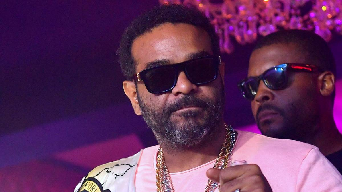 Jim Jones Reps For Fred The Godson During Snowy Bronx Street Name Unveiling