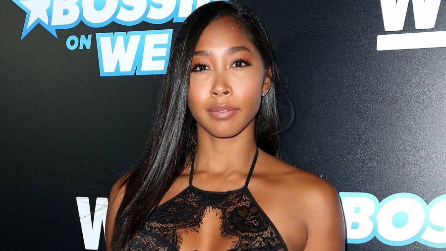 Dr. Dre's 'Mystery Woman' Identified As Omarion's Baby's Mother Apryl Jones