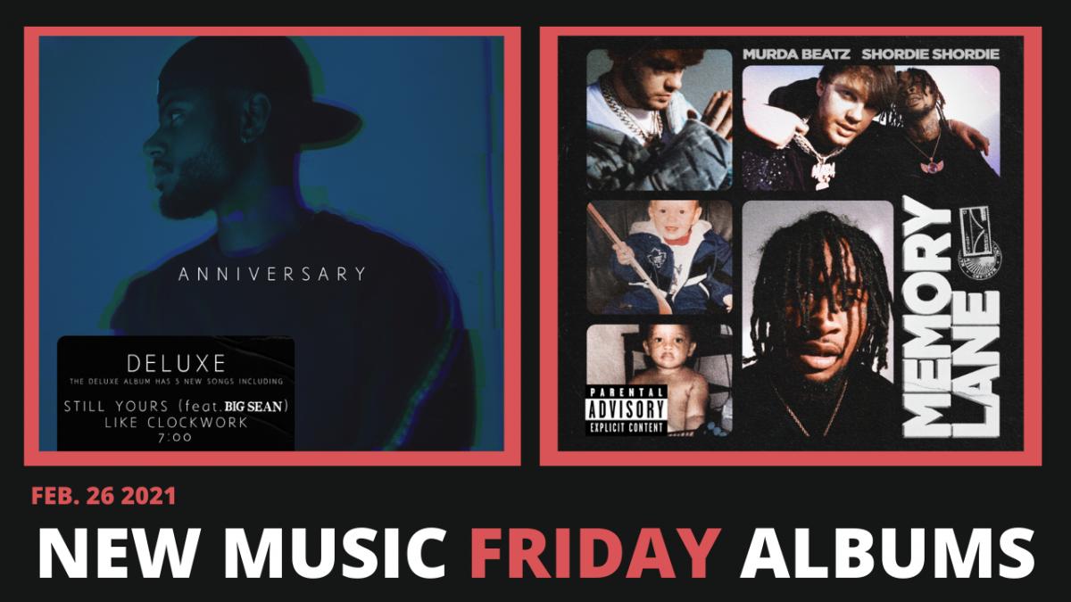 New Music Friday - New Albums From Bryson Tiller, Shordie Shordie & Murda Beatz,Curren$y + More