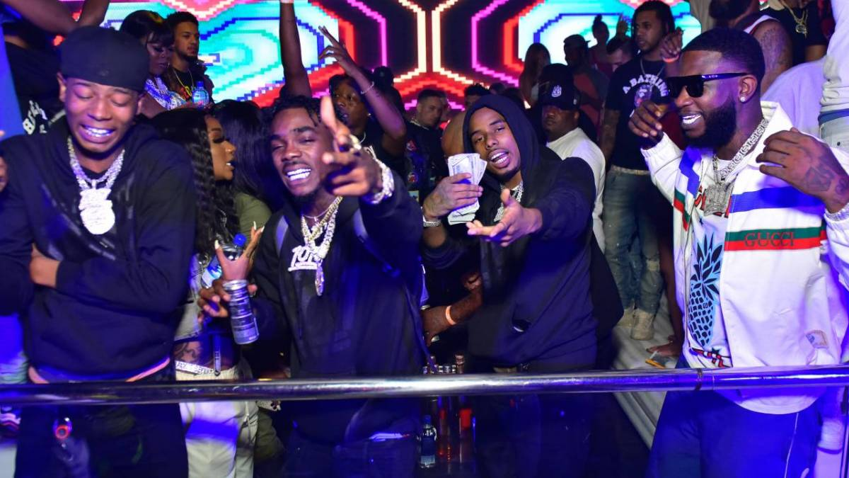 Pooh Shiesty, Foogiano & Big Scarr Wish Gucci Mane A 1017 Birthday For His 41st