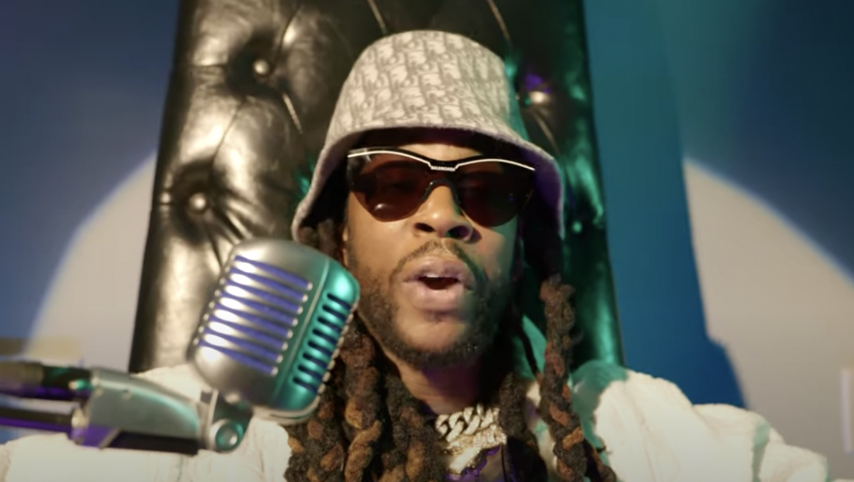 2 Chainz Gets A Champagne Pedicure While Performing For 'Tiny Desk (Home)' Concert Series