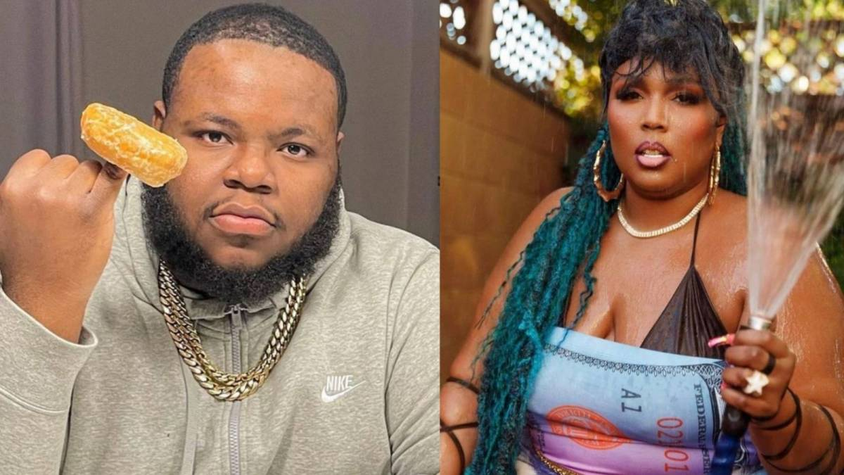 Lizzo Reveals BFB Da Packman Learned To Play The Flute & Gifted Her Roses For Valentine's Day