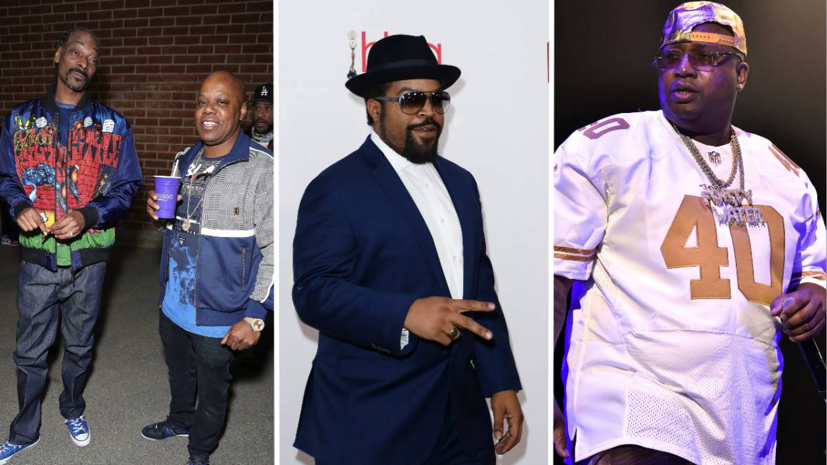 Snoop Dogg, Ice Cube, Too $hort & E-40's Mt. Westmore Supergroup To Debut At Triller Fight Club Event