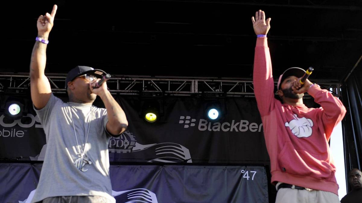 Royce Da 5'9 Reunites With Joe Budden At Heaven Studios