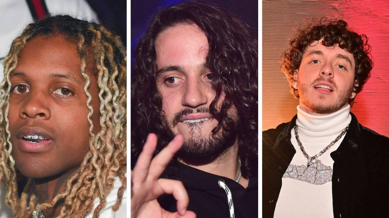 Lil Durk, Russ & Jack Harlow Polish Their Hoop Skills Before NBA All-Star Weekend