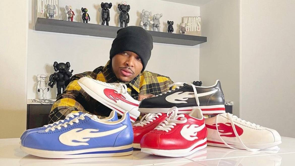 YG's New 'Block Runner' Sneaker Sells Out In Less Than 8 Minutes