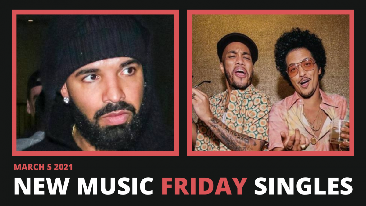 New Music Friday - New Singles From Drake, Bruno Mars & Anderson .Paak, Tyler The Creator + More