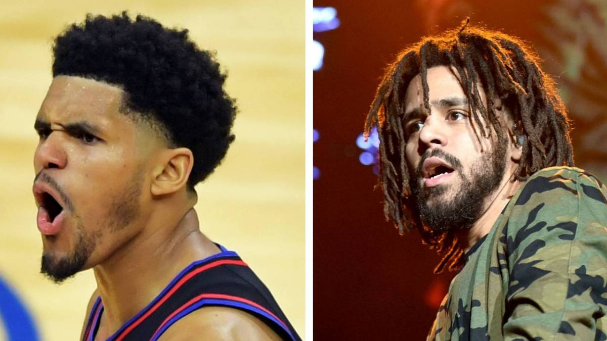 Nba Star Tobias Harris Gets Teased For Being A J Cole Lookalike After Dropping 25 Points Hiphopdx
