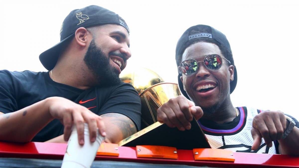Drake Crashes Toronto Raptors Star Kyle Lowry's Postgame Press Conference As 'His Translator'