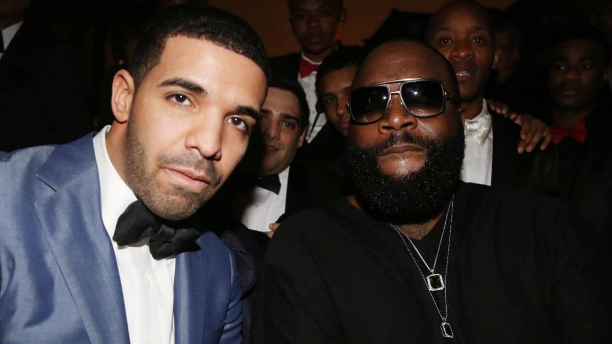 Rick Ross Likely Shares Your Opinion On Drake & Kanye West's 'Beef'