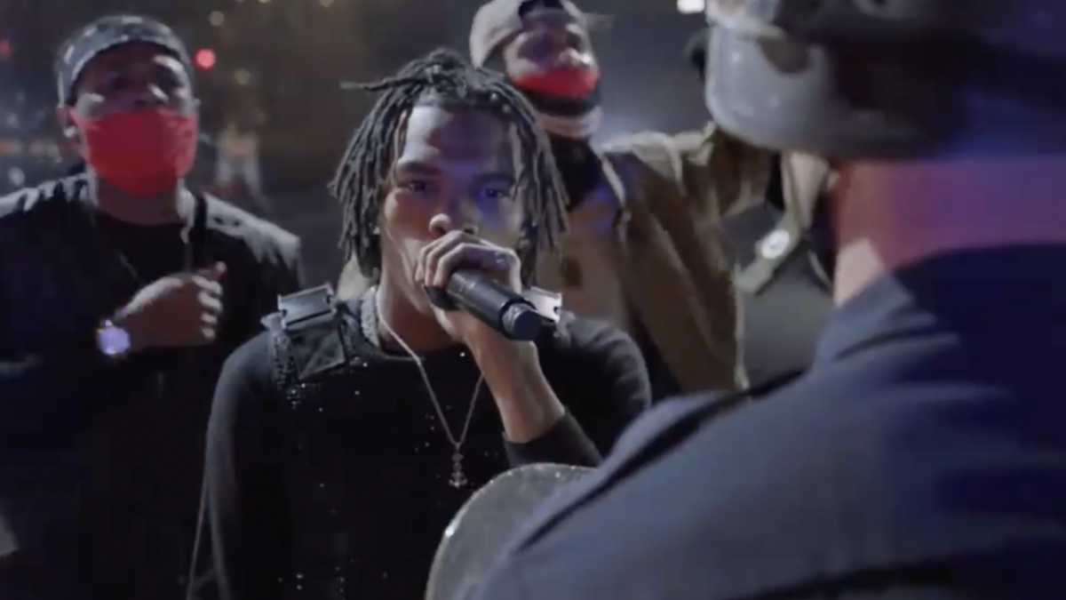 Lil Baby & Killer Mike Combine Their 'Bigger Picture' & 'Walking In The Snow' Lyrics For An Impactful 2021 Grammy Performance