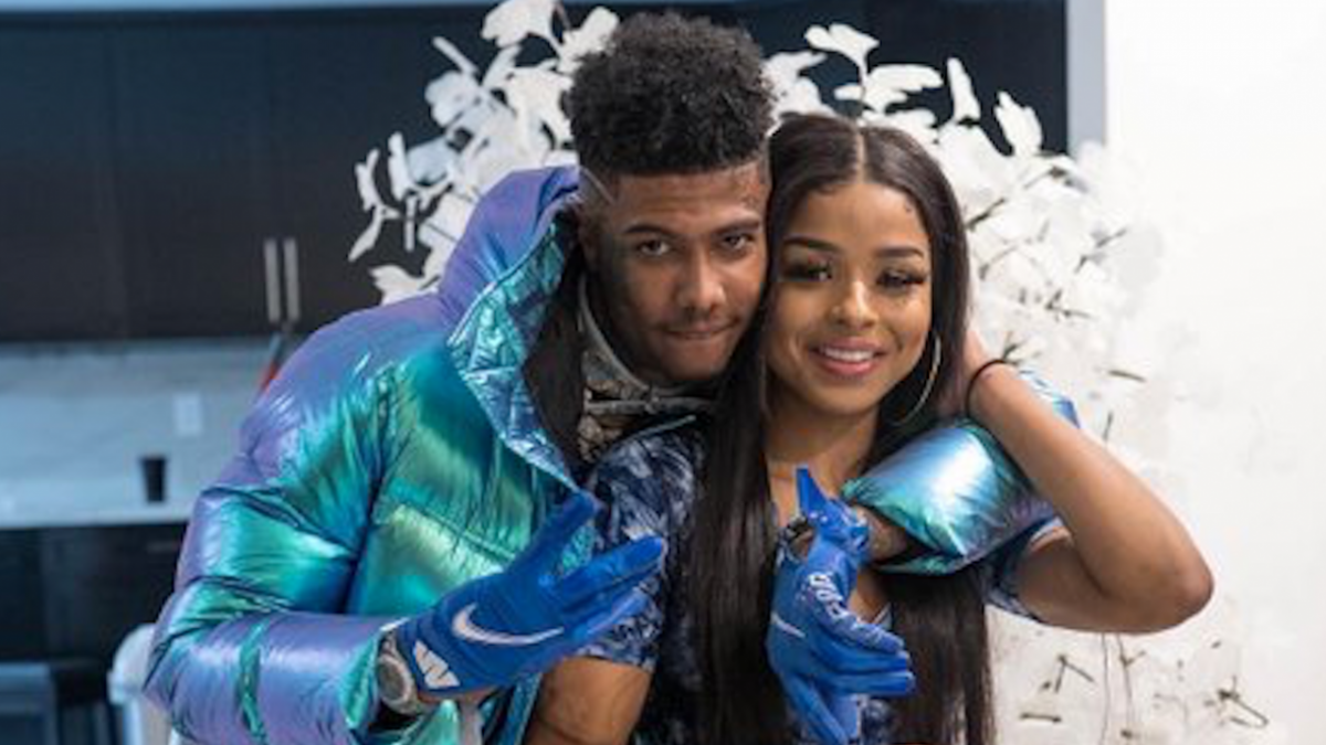 Blueface's Artist Gets His Real Name Tattooed On Her Face - Only To Be Dissed By Hitmaka