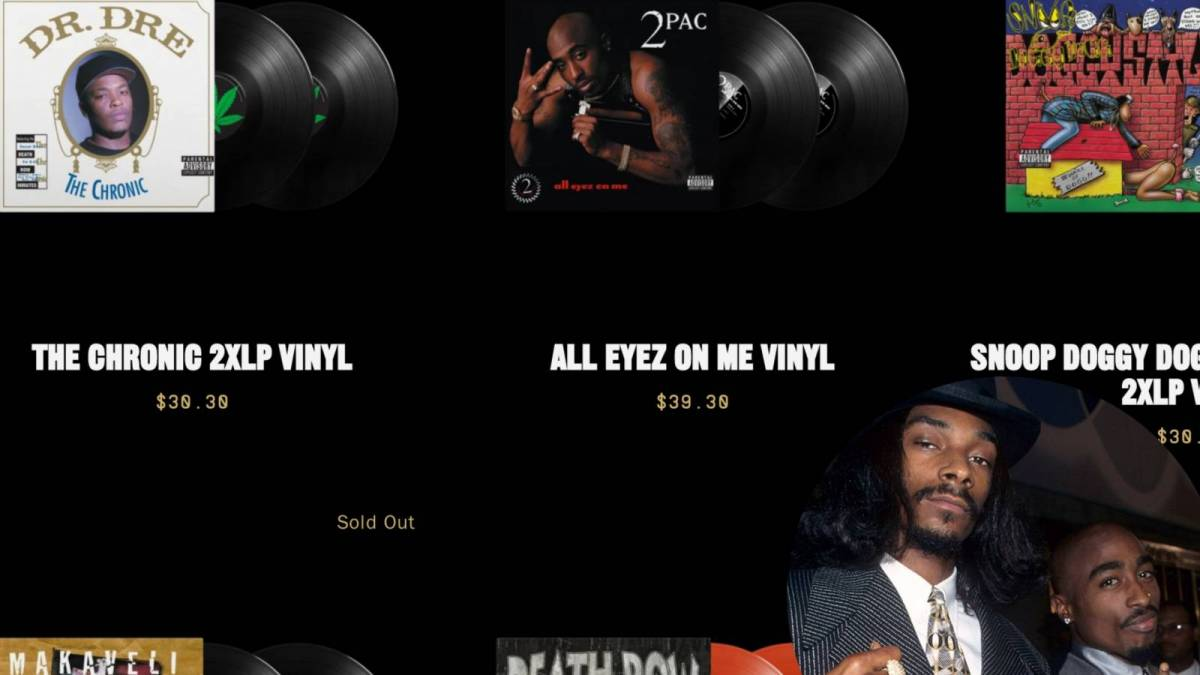 Death Row Records Reopens To Pump Snoop Dogg, Dr. Dre, 2Pac + More Classic Music, Merch & NFTs