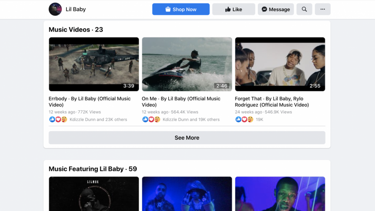Facebook Music Video Streams To Influence Billboard Charts Going Forward