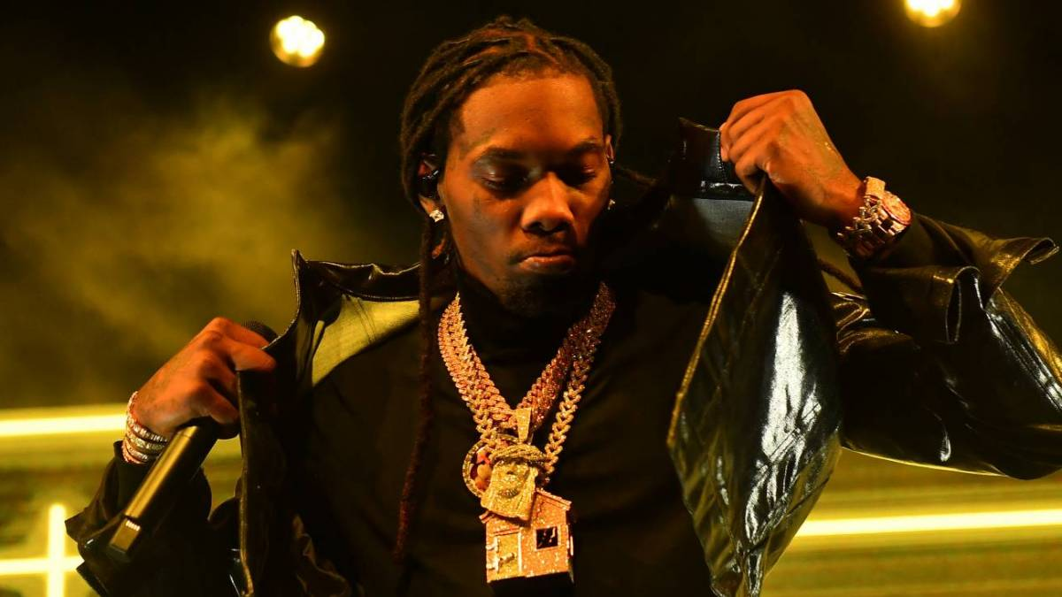 Migos' Offset Bringing Hip Hop Fashion To HBO Max Series 'The Hype' Hosted By Complex's Speedy Morman