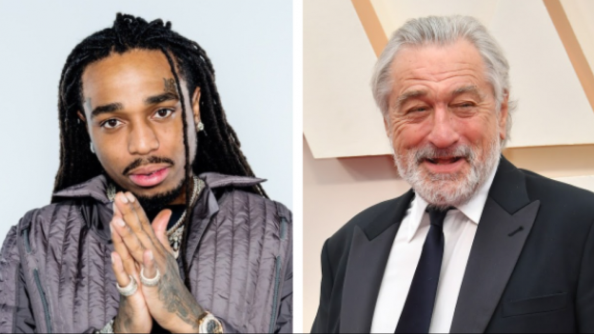 Quavo Says Robert De Niro Knew About Migos While Co-Starring In 'Wash Me In The River' Movie