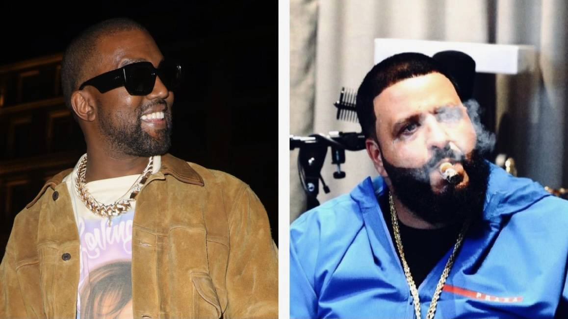 DJ Khaled & Kanye West Preview New Music While Eating Eggs & Ketchup