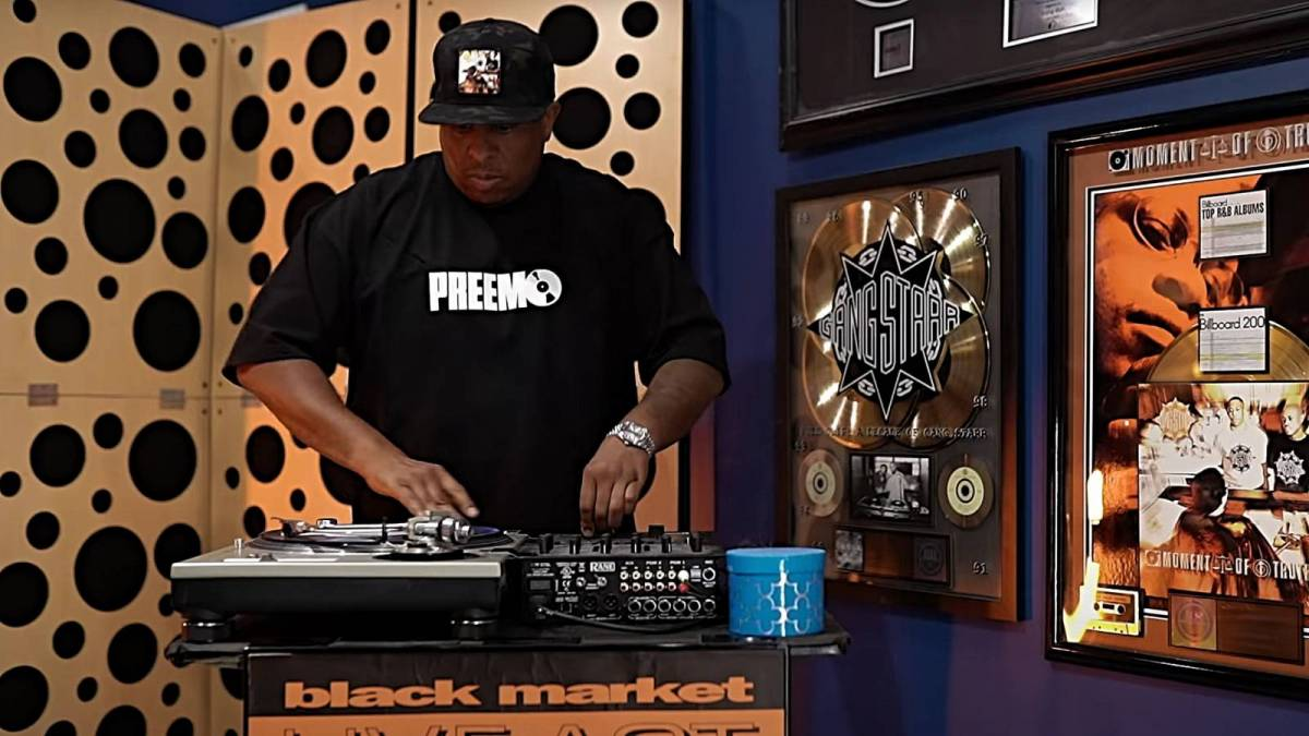 DJ Premier Carries Gang Starr Torch With 'Glowing Mics (Founders Remix)' Video